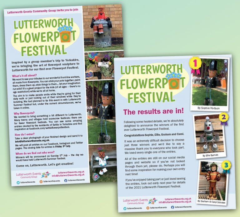 Lutterworth Flowerpot Festival
